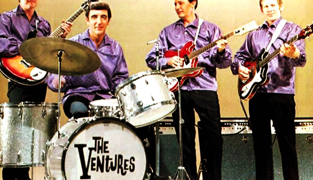 The Ventures and their Mosrites