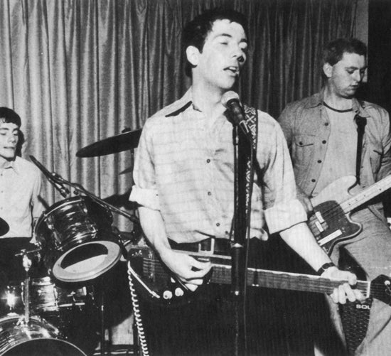 Pete Shelley playing his original Starway
