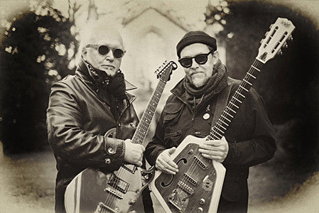 Bill Nelson (right) and Reeves Gabrels.