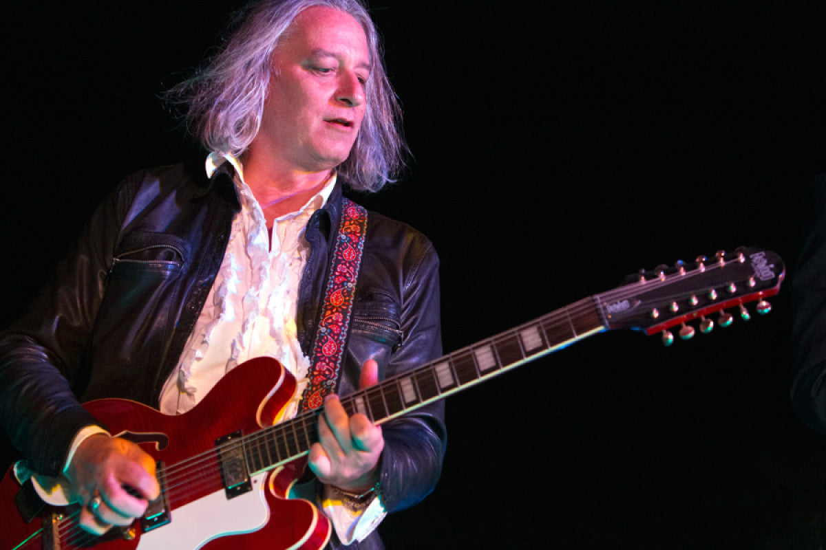Peter Buck and his Eastwood Nashville 12