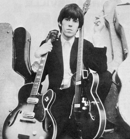 Keith Richards and his Harmony