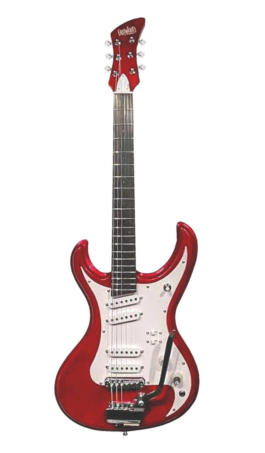 Eastwood Guitars LG 150T Metallic Red Angled