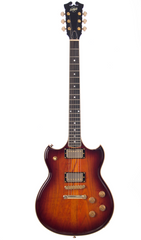 Eastwood Guitars Eastwood BW Artist Antique Sunburst Angled