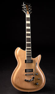 Eastwood Guitars Rivolta Combinata XVII Acero Glow Full Front