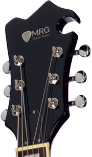 Eastwood Guitars MRG Baritone Guitar Walnut Headstock