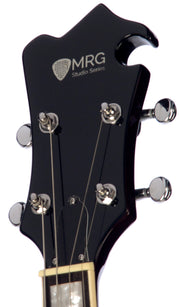 Eastwood Guitars MRG Tenor Walnut Headstock