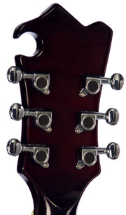 Eastwood Guitars MRG Baritone Guitar Walnut Head Back