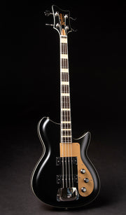 Eastwood Guitars Rivolta Combinata Bass VII Toro Black Satin Full Front
