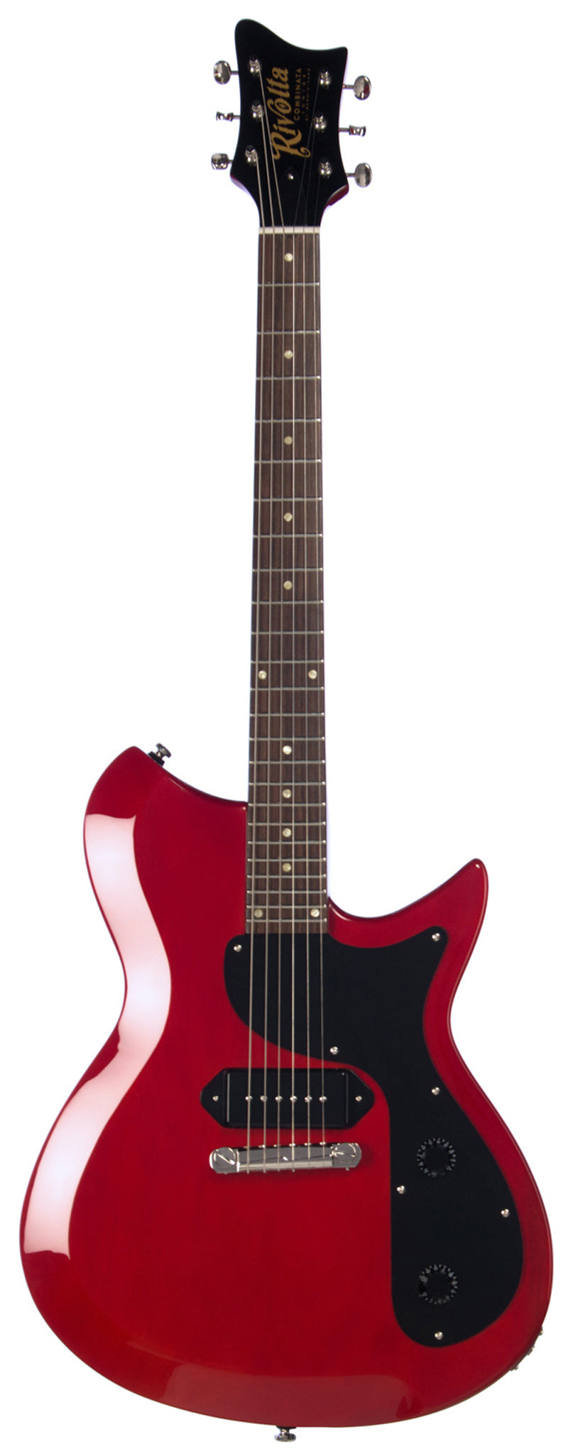 Eastwood Guitars Rivolta Combinata JR Rosso Red Full Front