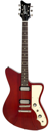 Eastwood Guitars Rivolta Mondata JR Rosso Red Full Front