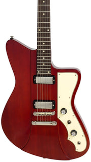 Eastwood Guitars Rivolta Mondata JR Rosso Red Closeup