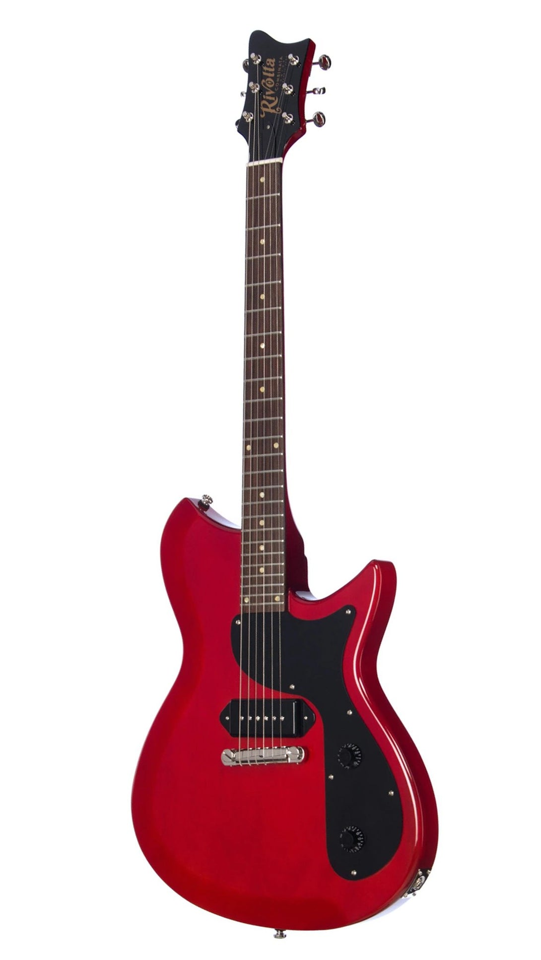 Eastwood Guitars Rivolta Combinata JR Rosso Red Angled