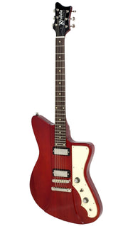 Eastwood Guitars Rivolta Mondata JR Rosso Red Angled