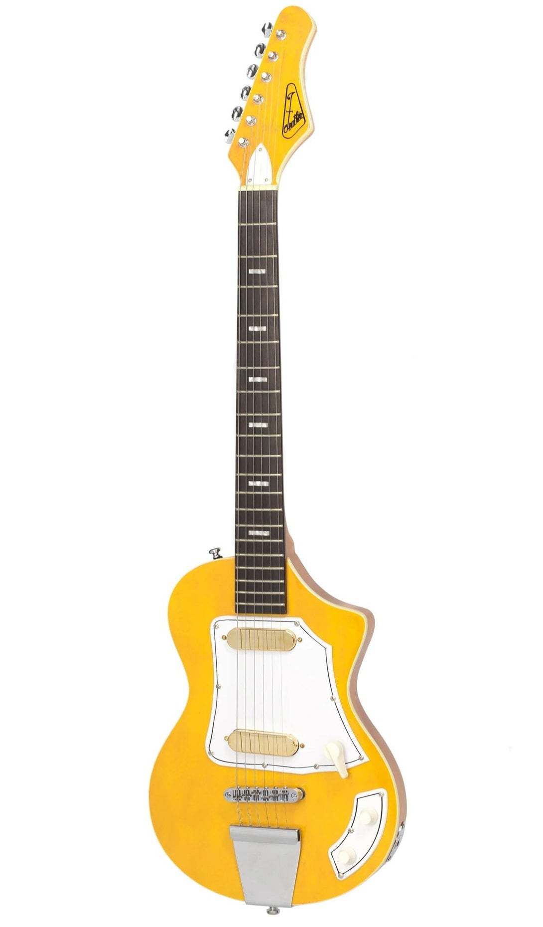 Eastwood Guitars LG50 Blonde Angled
