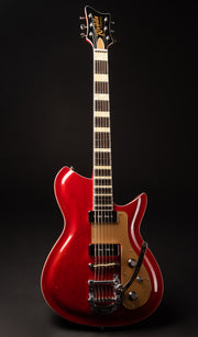 Eastwood Guitars Rivolta Combinata XVIIB Rosso Red Full Front
