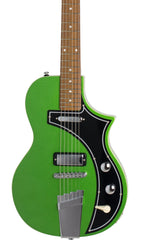 Eastwood Guitars The Continental by Jeff Senn Cadillac Green Featured