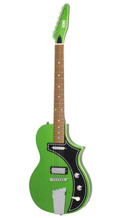 Eastwood Guitars The Continental by Jeff Senn Cadillac Green Angled