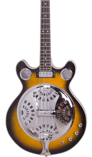 Eastwood Guitars Delta 4 Bass Sunburst Featured