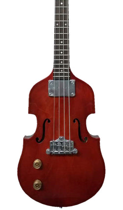 Eastwood Guitars EB 1 Bass Natural Mahogany Stain Featured