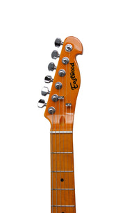 Eastwood Guitars Mad Cat Natural Headstock