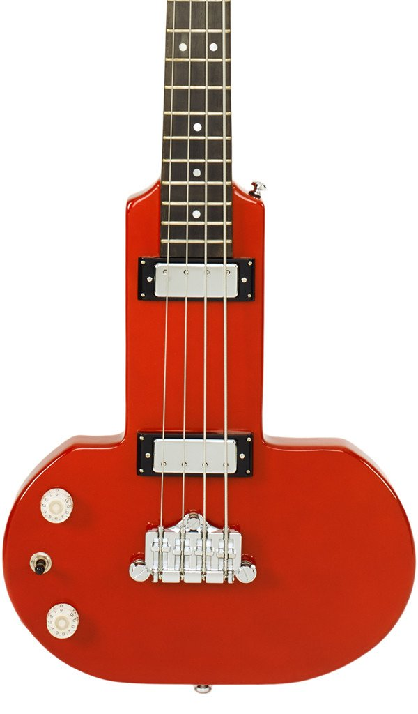 Eastwood Guitars DEVO Be Stiff Orange LH Featured