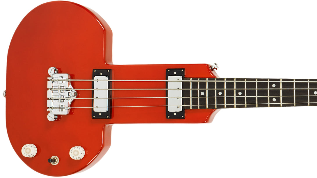 Eastwood Guitars DEVO Be Stiff Orange Closeup