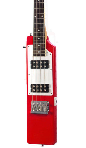 Eastwood Guitars La Baye 2x4 Bass Red Featured
