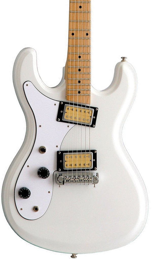 Eastwood Guitars Hi Flyer Phase 4 White LH Featured