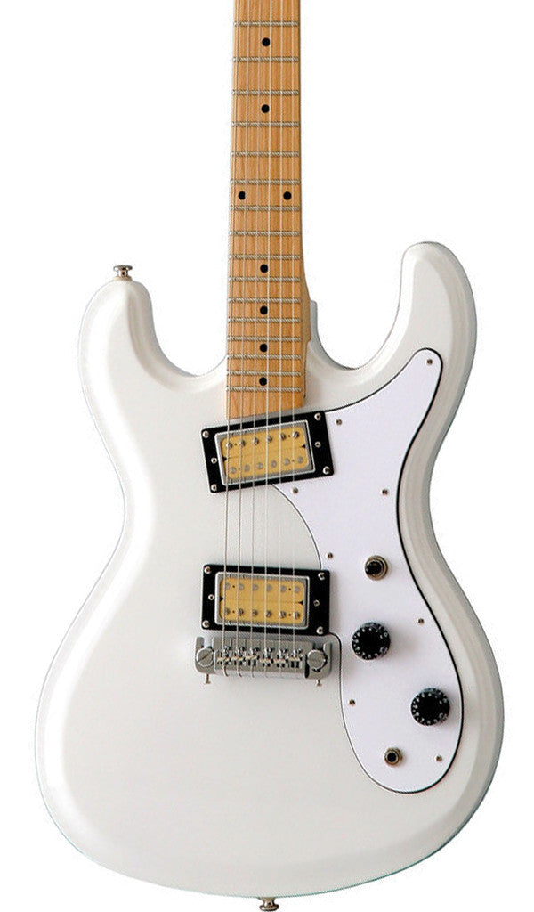 Eastwood Guitars Hi Flyer Phase 4 White Featured