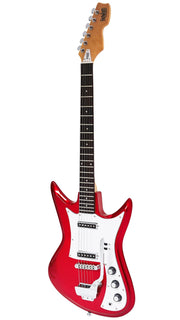 Eastwood Guitars Ichiban K2L Metallic Red angled