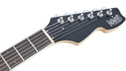 Eastwood Guitars Ichiban Black Headstock