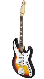 Eastwood Guitars NormaEG5214 Sunburst Angled