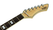 Eastwood Guitars NormaEG5214 Sunburst Headstock
