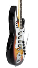 Eastwood Guitars NormaEG5214 Sunburst Player POV