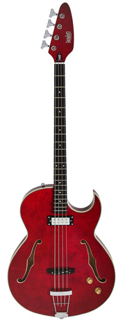 Eastwood Guitars Saturn IV Cherry Full Front