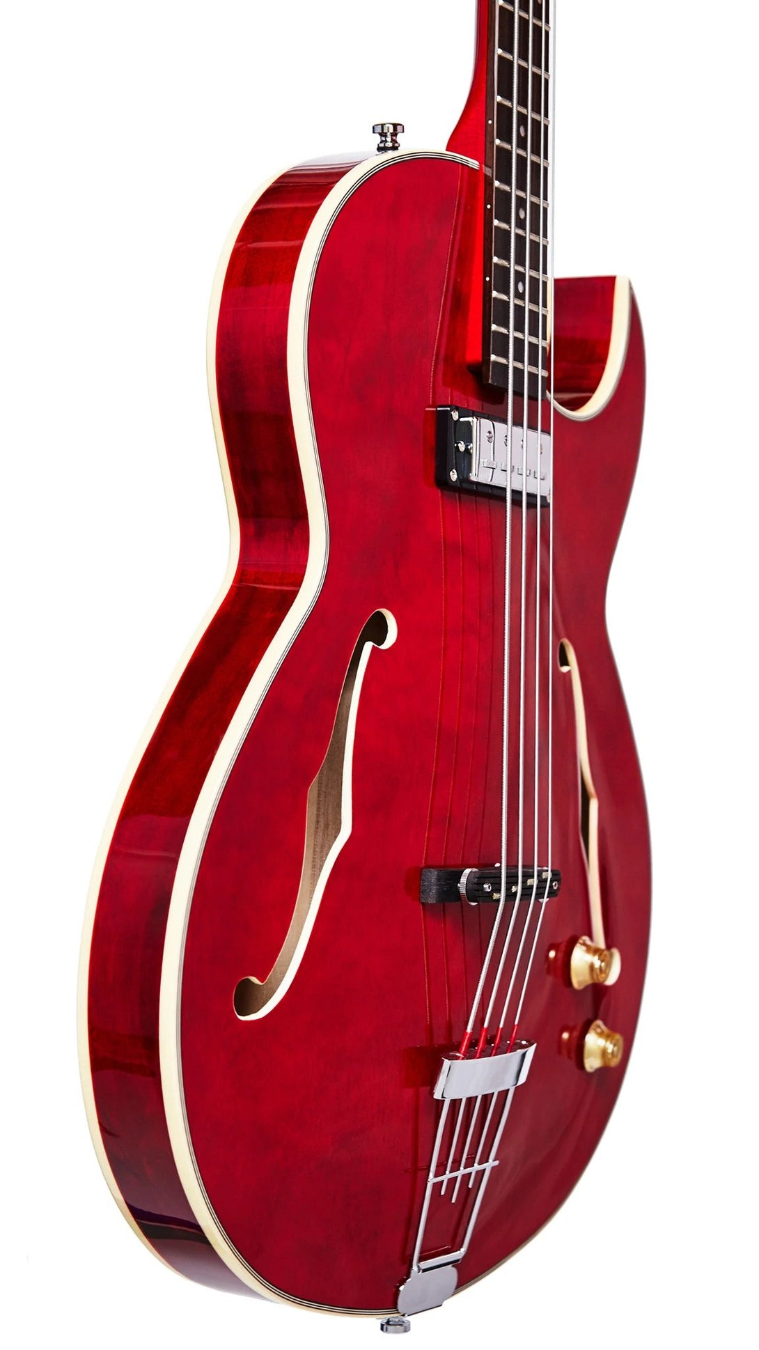 Eastwood Guitars Saturn IV Cherry Player POV