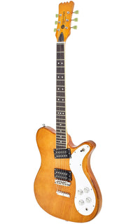 Eastwood Guitars Sidejack 300 Natural Angled