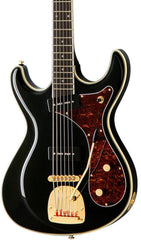 Eastwood Guitars Sidejack Bass VI Black