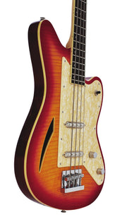 Eastwood Guitars Surfcaster Bass Cherryburst Player POV