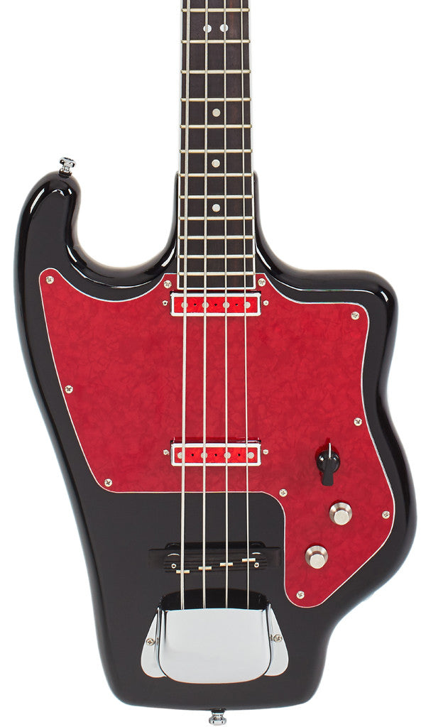 Eastwood Guitars Tonika Bass Black Featured