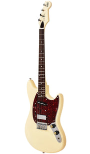 Eastwood Guitars Warren Ellis Tenor 2P Vintage Cream Angled