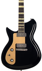 Eastwood Guitars Rivolta Combinata Toro Black LH Featured