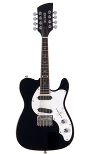 Eastwood Guitars Mandocaster Black Angled
