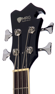 Eastwood Guitars MRG Bass Sunburst Headstock