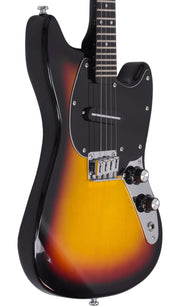 Eastwood Guitars Warren Ellis Mandostang Sunburst Player POV
