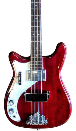 Eastwood Guitars Eastwood Newport Bass LH Cherry Featured