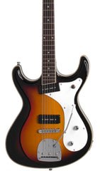 Eastwood Guitars Sidejack Baritone DLX Sunburst Featured