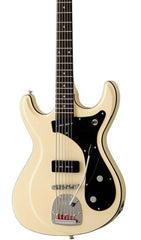 Eastwood Guitars Sidejack Bass VI Vintage Cream