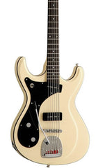 Eastwood Guitars Sidejack Bass VI Vintage Cream LH