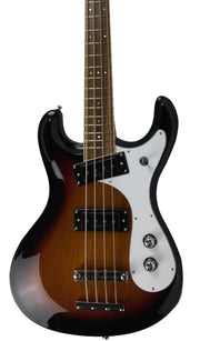 Eastwood Guitars Sidejack Pro Bass Sunburst